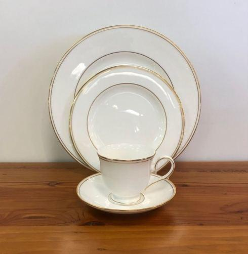 Pieces of Eight Exclusives   Federal Gold by Lenox Four Piece Place Setting  $86.85