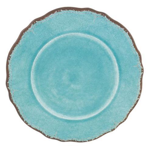 $18.25 Antiqua Turquoise Dinner