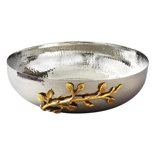 Golden Vine Salad Bowl 12