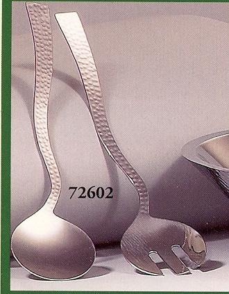 $18.50 Hammered Salad Servers