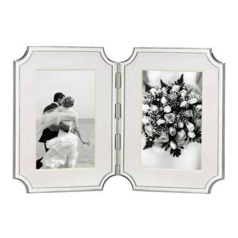 Pieces of Eight Exclusives   Sullivan St. Hinged 4x6 Double Frame $115.00