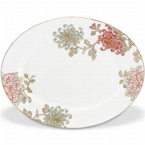Painted Camellia Oval Platter collection with 1 products