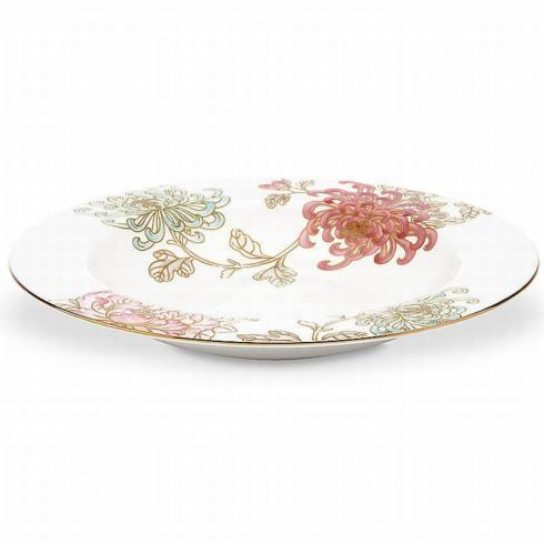 Painted Camellia Rim Soup Bowl collection with 1 products