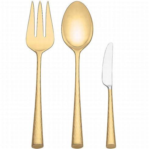 Imperial Gold 3 Piece Serving Set collection with 1 products