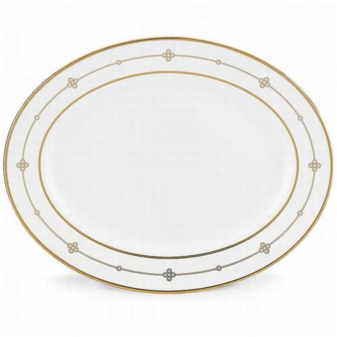 Jeweled Jardin Oval Platter-13