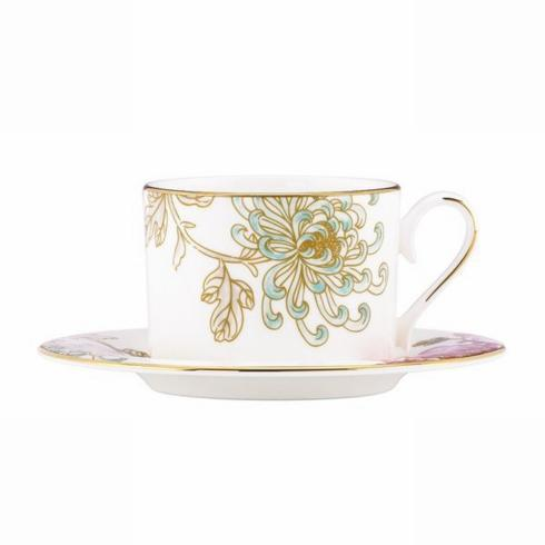 Painted Camellia Cup & Saucer collection with 1 products