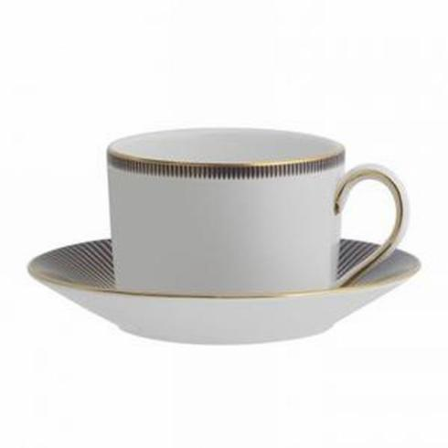 Lismore Diamond Lapis Cup & Saucer-Discontinued collection with 1 products