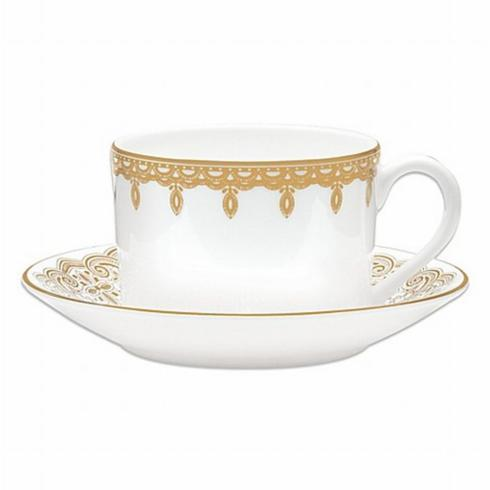 Lismore Lace Gold Cup & Saucer-Discontinued collection with 1 products
