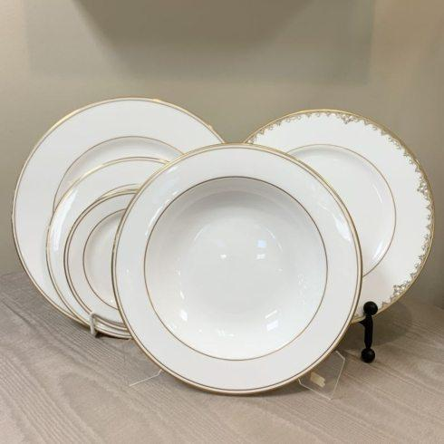 Pieces of Eight Exclusives   Federal Gold 5 Piece Place Setting $138.55