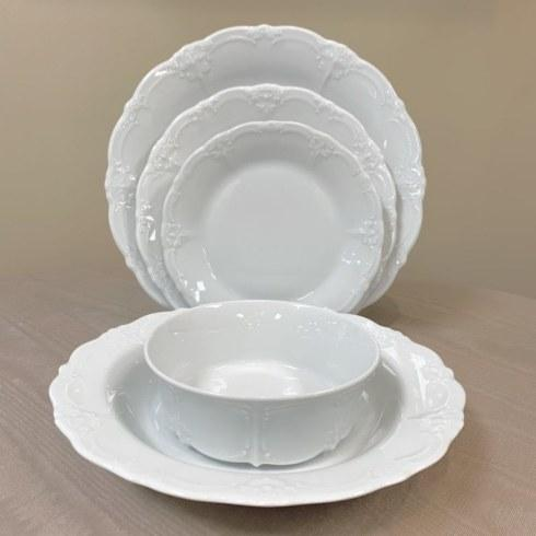 Baronesse White 5 Piece Place Setting collection with 1 products