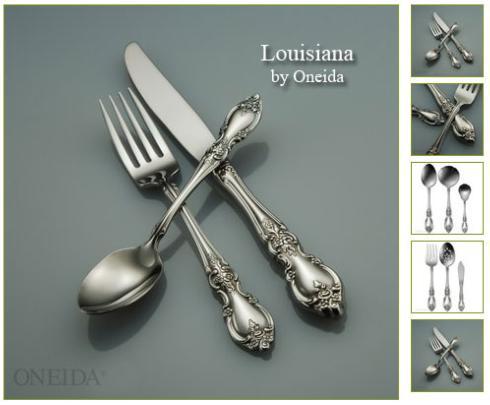 Oneida   Louisiana Flatware 5PPS $42.00