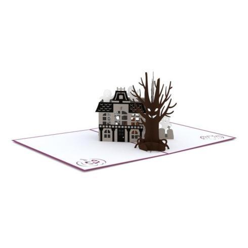 $13.00 Pop Up Card-Haunted House