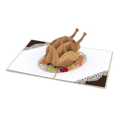$13.00 Pop Up Card-Turkey Dinner