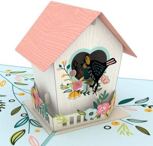 $13.00 Birdhouse Pop-up Card