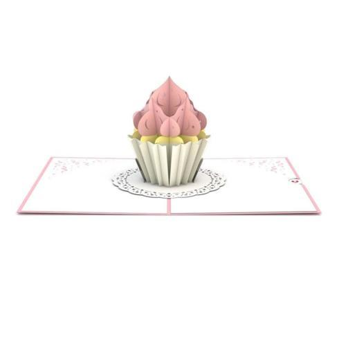 $10.95 Pop Up Card-Cupcake Birthday