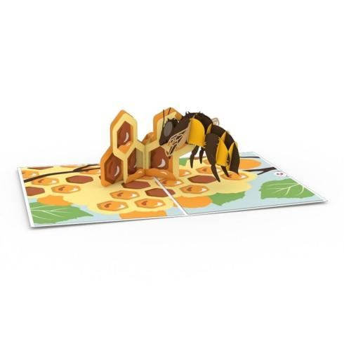 $13.00 Popup Card-Honeybee
