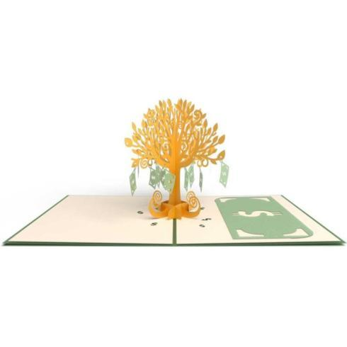 $13.50 Pop Up Card-Money tree