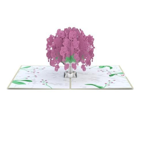 $13.00 Pop up Card-Orchid Bouquet