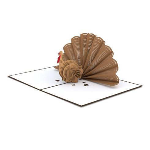 $10.95 Pop Up Card-Thanksgiving Turkey