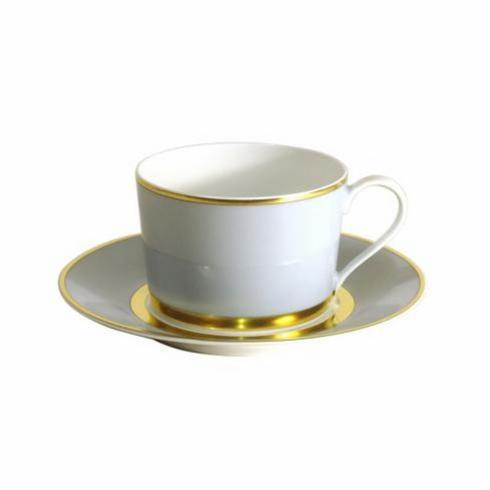 MAK Grey/Gold Cup and Saucer collection with 1 products