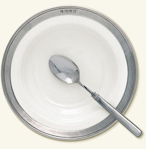 Match   Convivio White Rim Soup Bowl $132.00