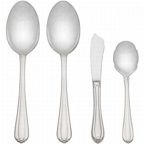Melon Bud Flatware 4 Piece Serving Set collection with 1 products