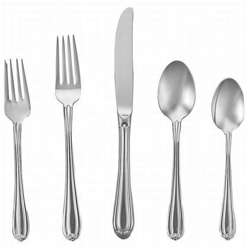 Melon Bud Flatware 5 Piece Place Setting collection with 1 products