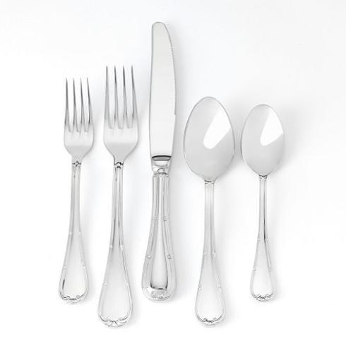 Pieces of Eight Exclusives   Raffaello Flatware 5 Piece Place Setting $51.00