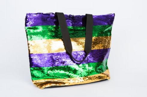 Mardi Gras Sequin Tote Bag collection with 1 products