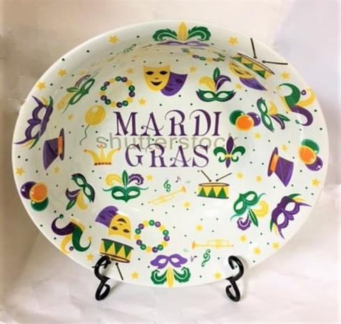 Mardi Gras  Serving Bowl collection with 1 products