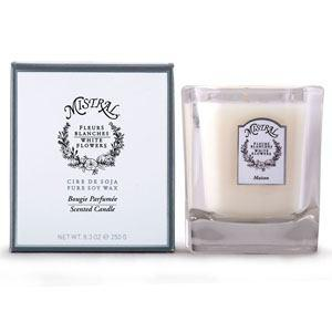 $34.00 White Flowers Candle