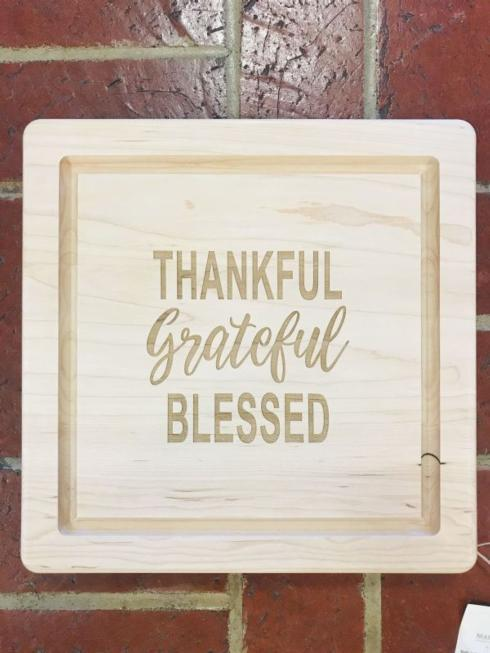 $92.00 Cutting Board-Thankful, Grateful, Blesssed