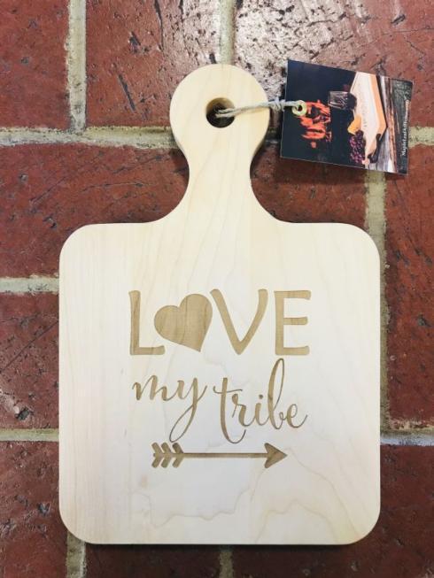 $48.00 Cutting Board-Love my tribe
