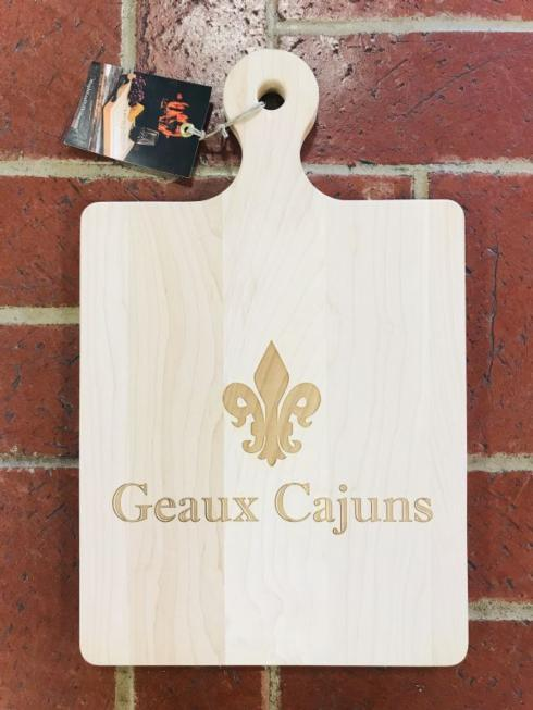 $75.00 Cutting Board-Geaux Cajuns