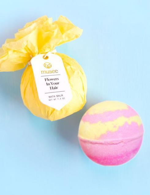 $7.95 Flowers in Your Hair Bath Bomb