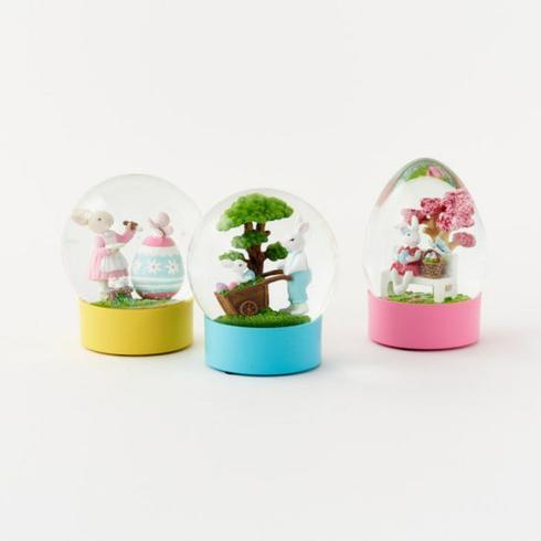 $27.50 Easter Water Globe-Assorted