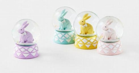 Bunny Water Globe-Assorted collection with 1 products