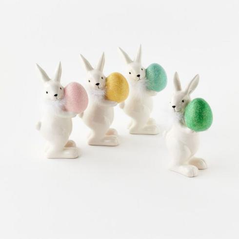 $17.95 Bunny with colored egg-Assorted