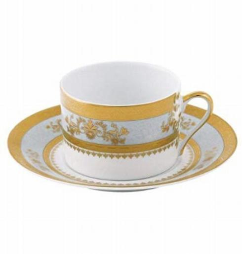 $160.00 Orsay Powder Blue Cup & Saucer