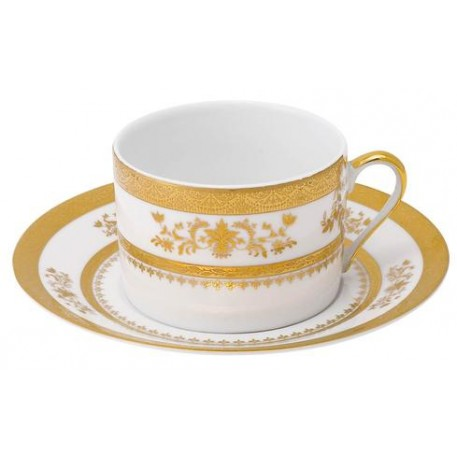 Pieces of Eight Exclusives   Orsay White Cup and Saucer $140.00