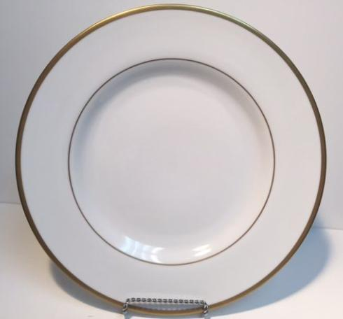 Pieces of Eight Exclusives   Signature Ultra White/Gold Dinner Plate $60.00