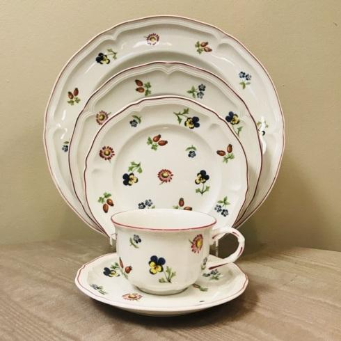 Petite Fleur 5 Piece Place Setting collection with 1 products