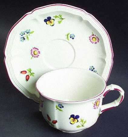 Petite Fleur Cup & Saucer collection with 1 products
