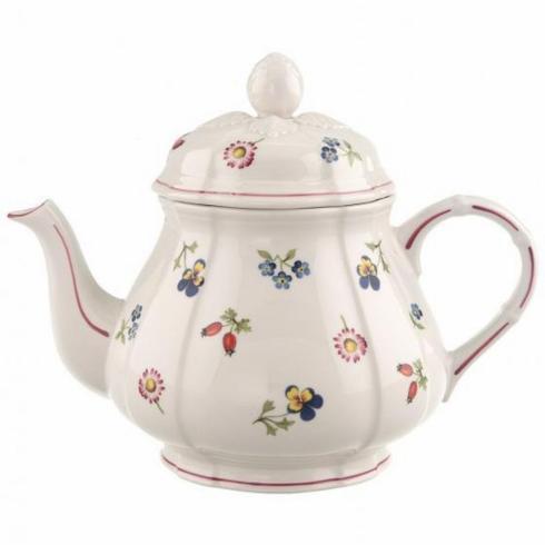 $221.60 Petite Fleur Teapot