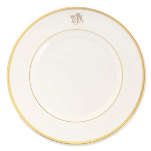 Pieces of Eight Exclusives   Signature Gold Ultra White Dinner Monogrammed $80.00