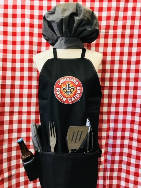 BBQ Apron/Tote-Black UL collection with 1 products