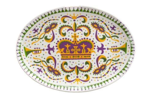 Pieces of Eight Exclusives Louisiana Favorites Mardi Gras Mardi Gras Platter $49.95