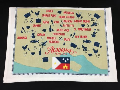 $13.95 Acadiana Kitchen Towel
