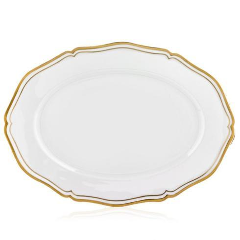 Polka Gold Oval Platter-Large collection with 1 products