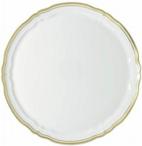 Polka Gold Round Flat Cake Plate collection with 1 products